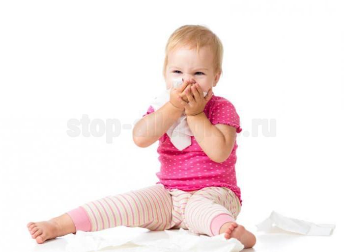 Сухой аллергический кашель у ребенка