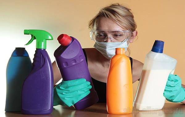 Симптомы и лечение аллергии на моющие средства