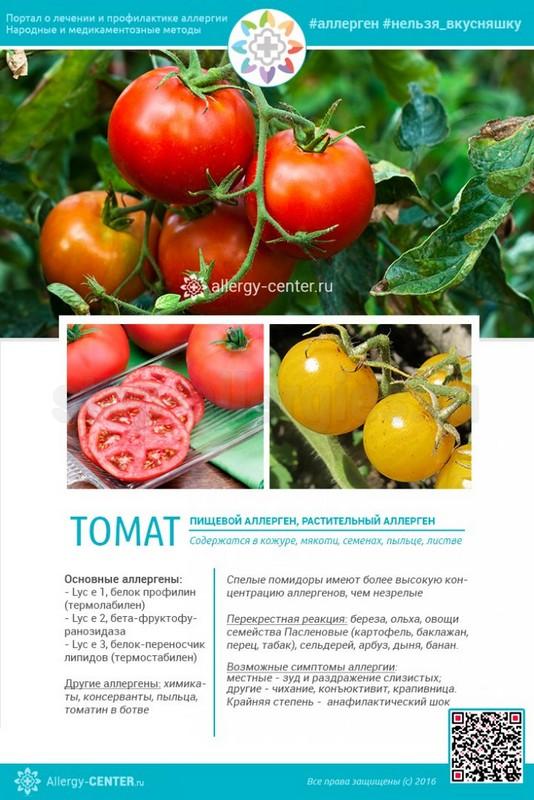 Аллергия на рассаду помидор симптомы у взрослых 6
