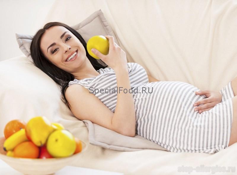 аллергия у беременных как выглядит