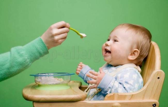 На какую кашу может быть у ребенка аллергия на